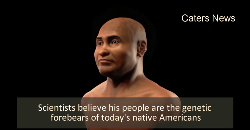 PROOF AFRICANS WERE FIRST ON AMERICAS: 3D Face of 10,000-year-old African Cave Man May Settle Debate!