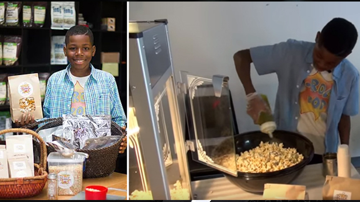 Healthy Popcorn? 12 Year Old Launches Gourmet Vegan Popcorn Company in Chicago