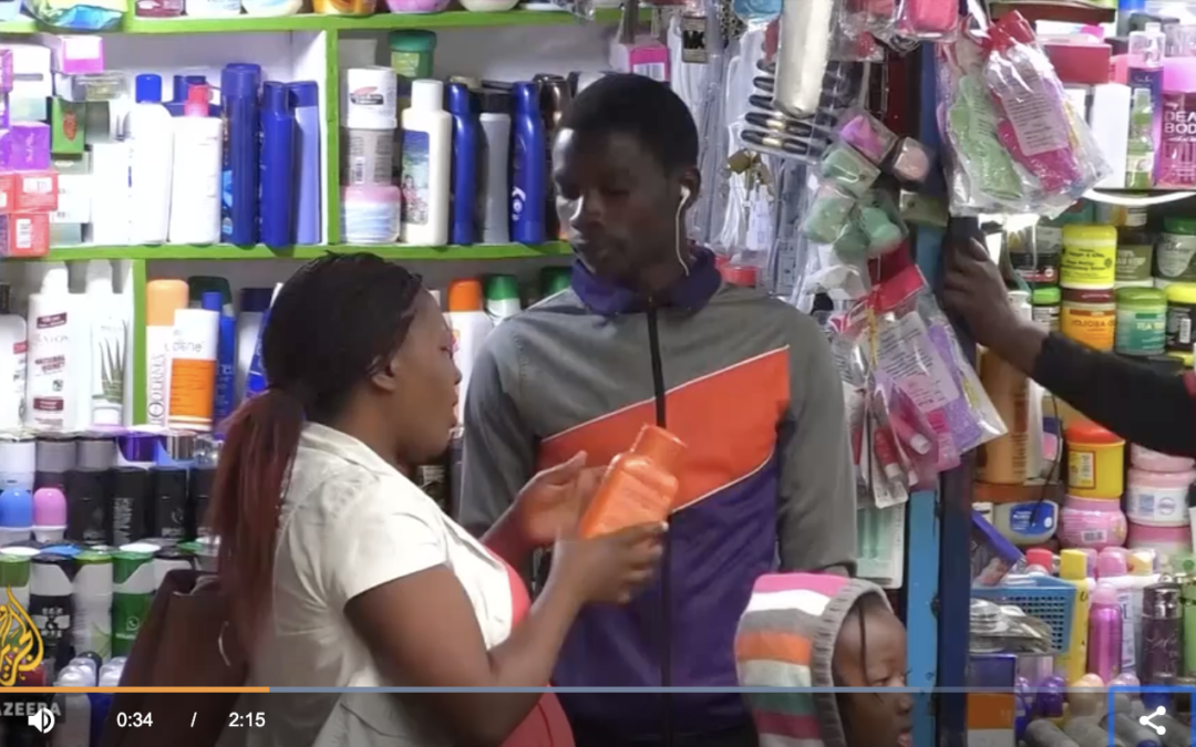 BLACK IS BEAUTIFUL: Rwanda bans skin bleaching products from shops countrywide BUT there are fears {VIDEO}