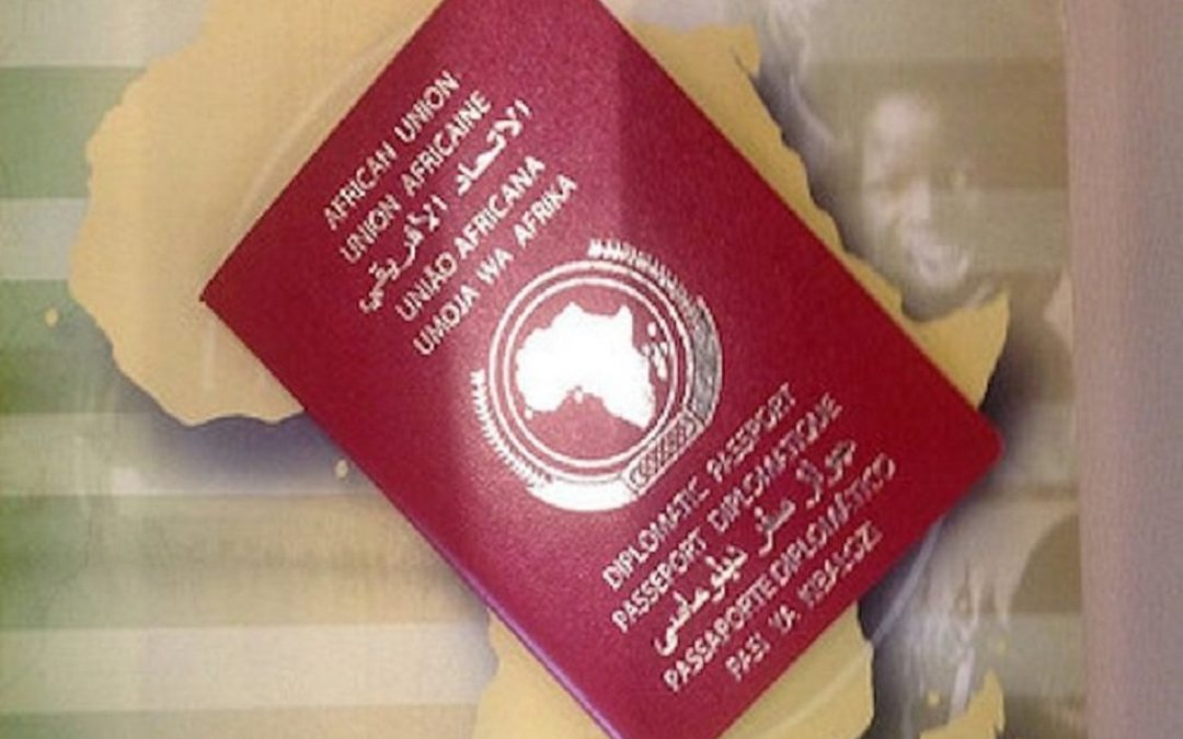 Complete African Free Movement One Step Closer, New African Union Passport Launching Next Month!
