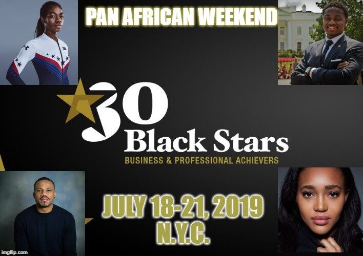 Highlighting the Pan-African Weekend, 2019, NYC