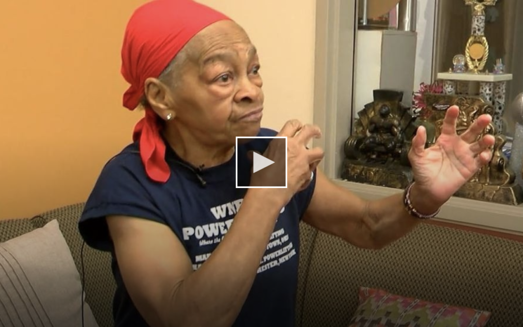 """82-year-old female bodybuilder beats up man who broke into her home: """"I'm alone, I'm old, but guess what I'm tough"""""""
