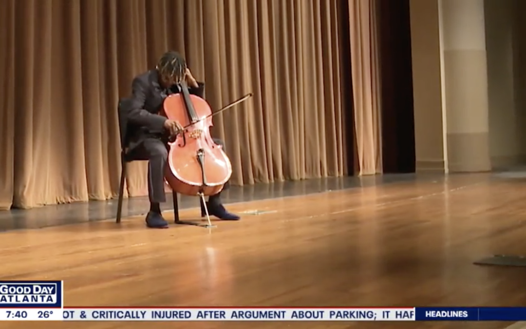 {VIDEO} 16-year-old cellist heading to Carnegie Hall