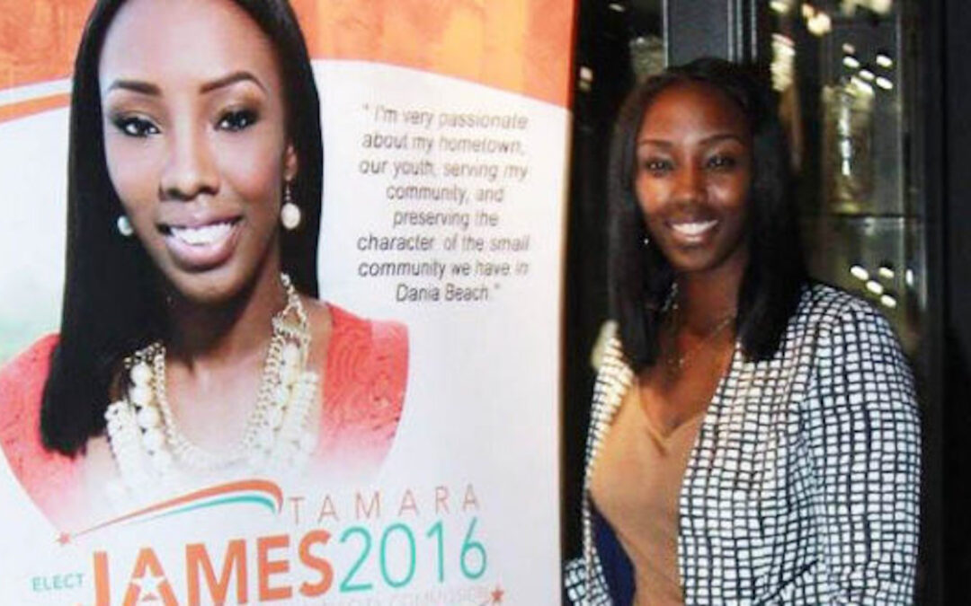 Tamara James, from Basketball player to city Mayor!