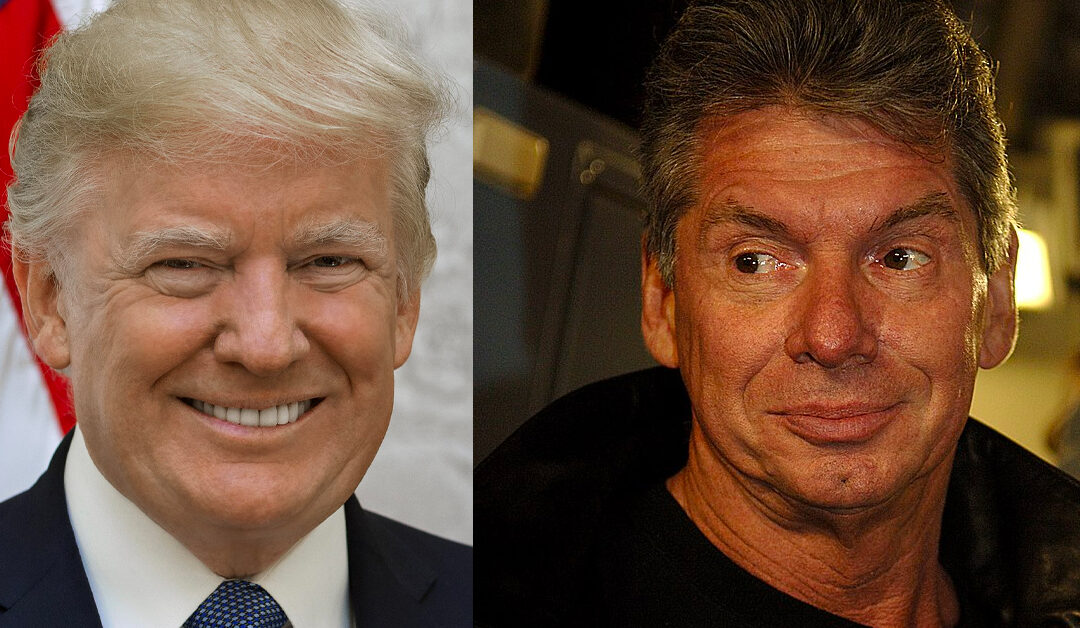 Trump has picked WWE's Vince McMahon as an adviser to help restart the US economy